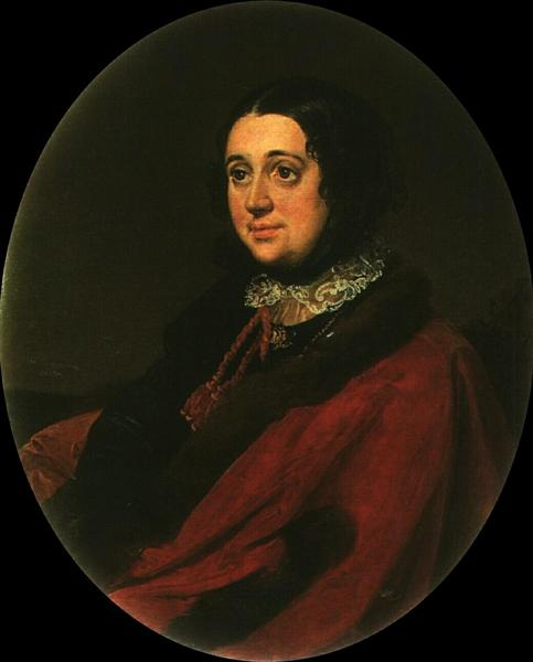 Portrait of E.P. Rostopchin, 1853 - Vasily Tropinin