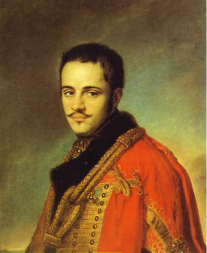 Portrait of N. N. Rayevsky Jr, 1842 - Vasily Tropinin