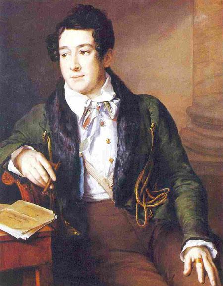 Portrait of Prince Alexander S. Dolgorukov - Vasily Tropinin