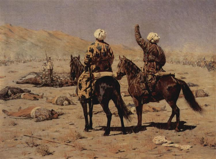 About the war, 1873 - Vasili Vereshchaguin