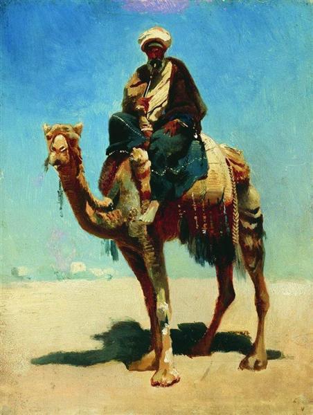 Arab on camel, 1869 - 1870 - Vasily Vereshchagin