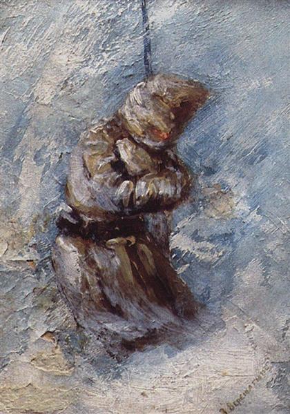 At Shipka all is quiet ..., 1878 - 1879 - Vasily Vereshchagin
