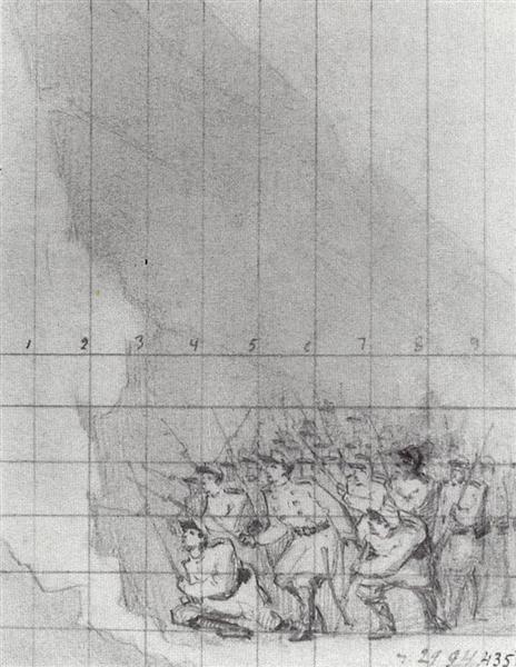 At the Fortress Walls. Let them Enter, c.1871 - Vasily Vereshchagin