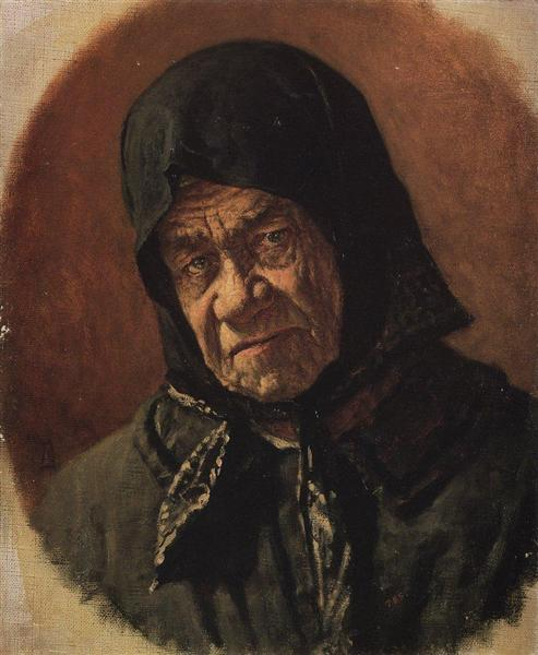 Beggar, Ninety Six Years Old, c.1891 - Vasily Vereshchagin