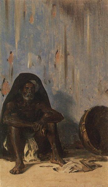 Coolie (porter), 1875 - Vasily Vereshchagin