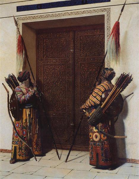 The Doors of Tamerlane, 1872 - Wassili Wassiljewitsch Wereschtschagin