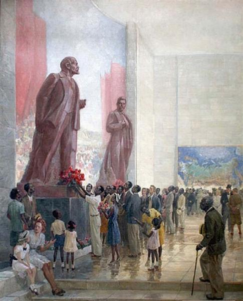 Great Expectations. USSR pavilion on 1939 New York World's Fair, 1947 - Veniamin Kremer