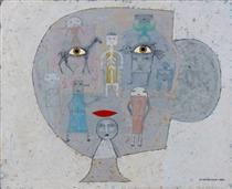 Reconstruction de l'Être aime - Victor Brauner