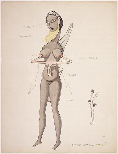 The Complete Woman (Project C), 1936