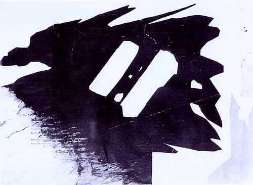Silhouette fantastique, 1854 - Victor Hugo