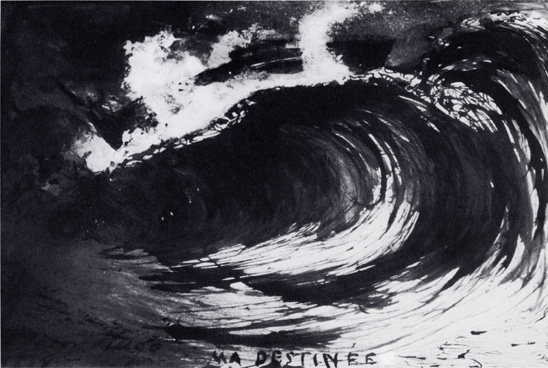 The Wave or My Destiny, 1857 - Victor Hugo