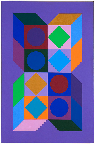 Sonora Do, 1973 - Victor Vasarely