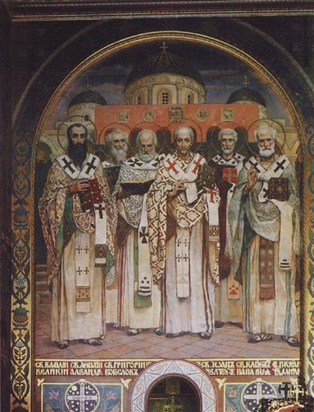 Cathedral of Saints of the Universal Church, 1885 - 1896 - Viktor Vasnetsov