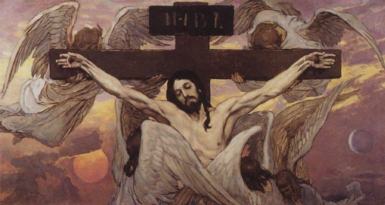 Crucified Christ, 1885 - 1896 - Víktor Vasnetsov