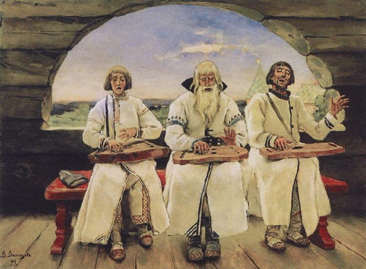 Guslars, 1899 - Viktor Vasnetsov