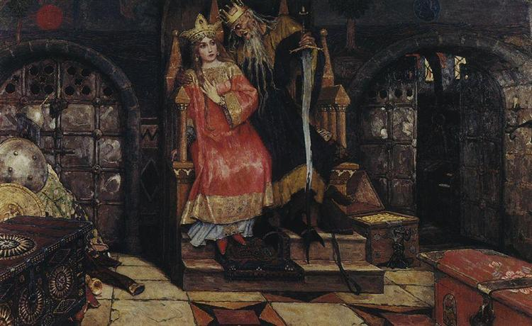 Kashchei the Immortal, 1917 - Viktor Vasnetsov