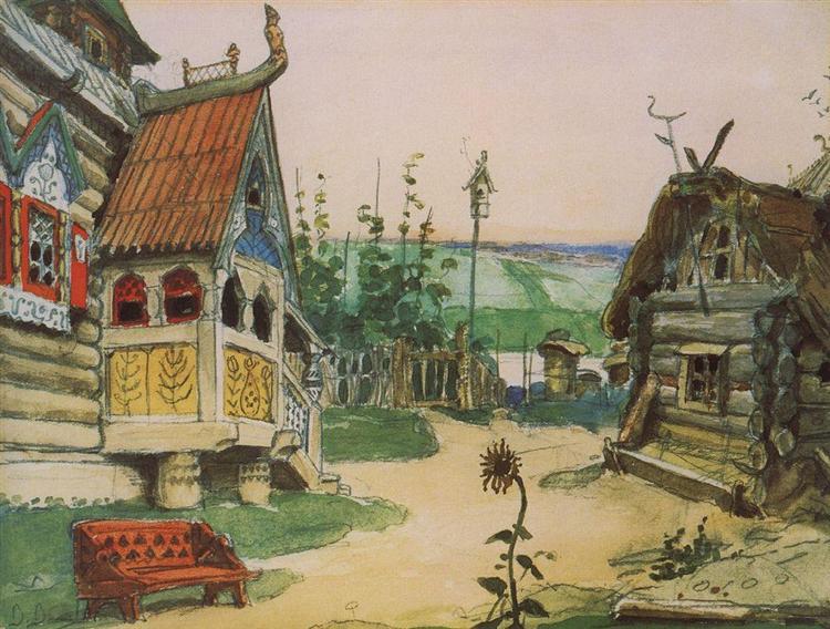 Nina Slobodka Berendeevka, 1885 - Viktor Vasnetsov