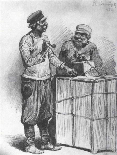 Porters, 1870 - Viktor Vasnetsov