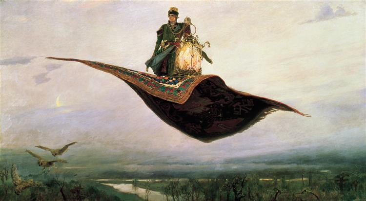 Flying Carpet, 1880 - Viktor Vasnetsov
