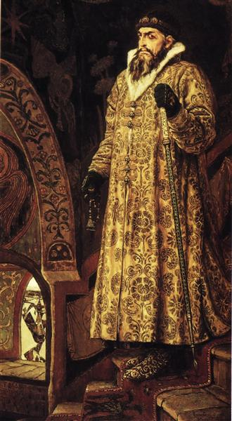 Tsar Ivan IV the Terrible, 1897 - Viktor Vasnetsov