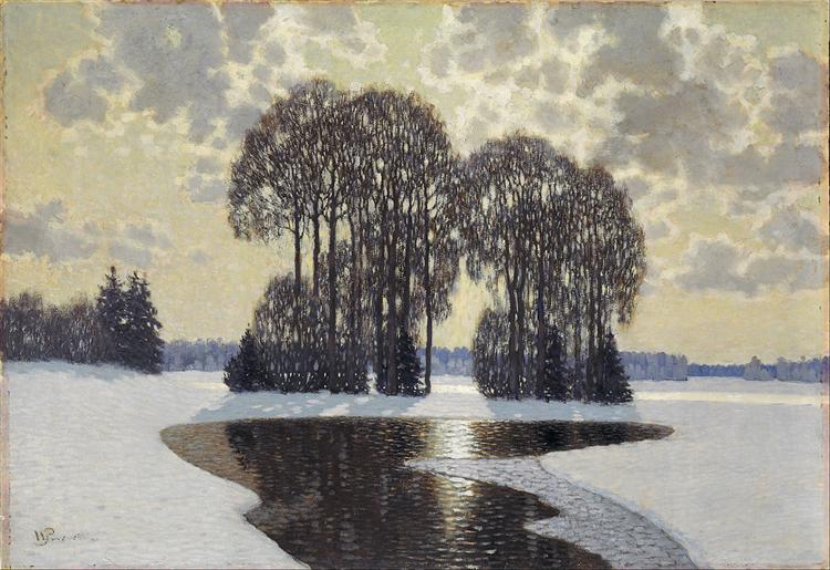Winter, 1910 - Vilhelms Purvitis