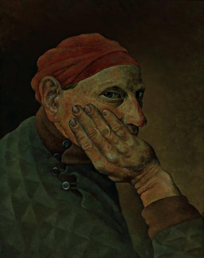 Self-Portrait, 1934 - Вілхо Лампі