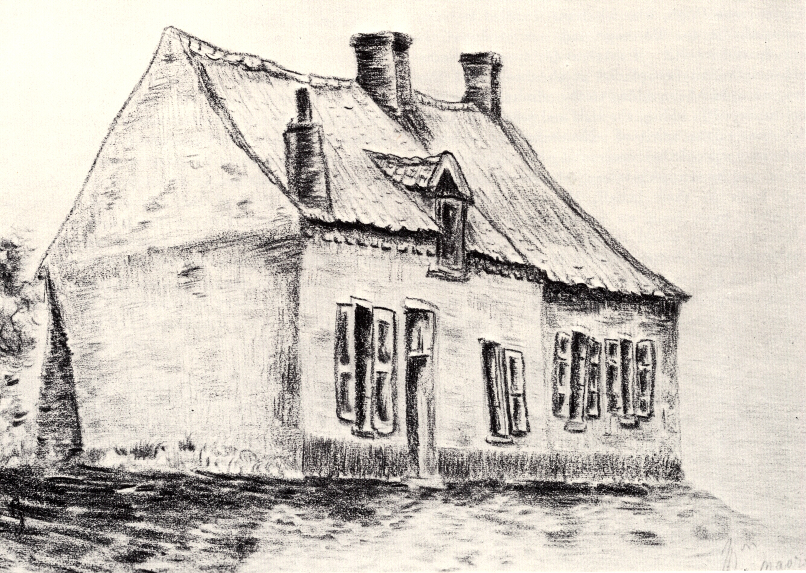 A house Magros, 1879