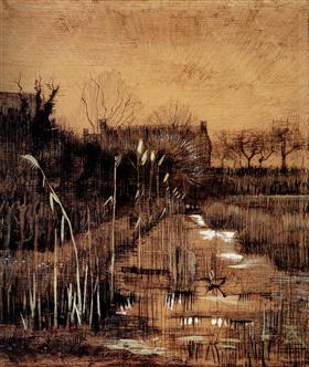 Zanja, Vincent van Gogh