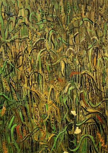 Ears of Wheat, 1890 - Vincent van Gogh
