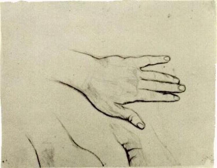 Hand 1885 Vincent Van Gogh Wikiart Org