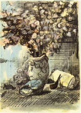 La honestidad en un florero, Vincent van Gogh