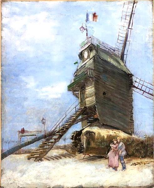 Le Moulin de la Galette 4, 1886 - Vincent van Gogh
