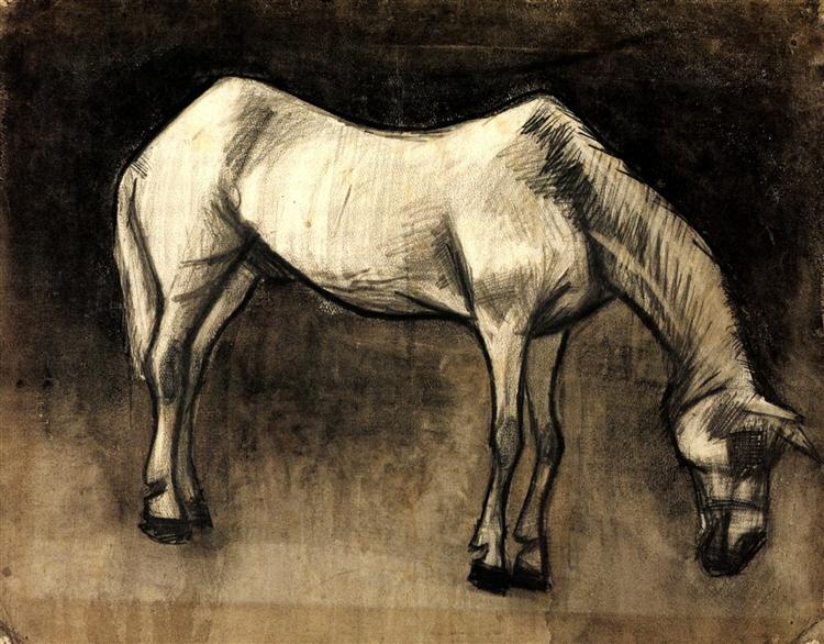 Old Nag, 1883 - Vincent van Gogh