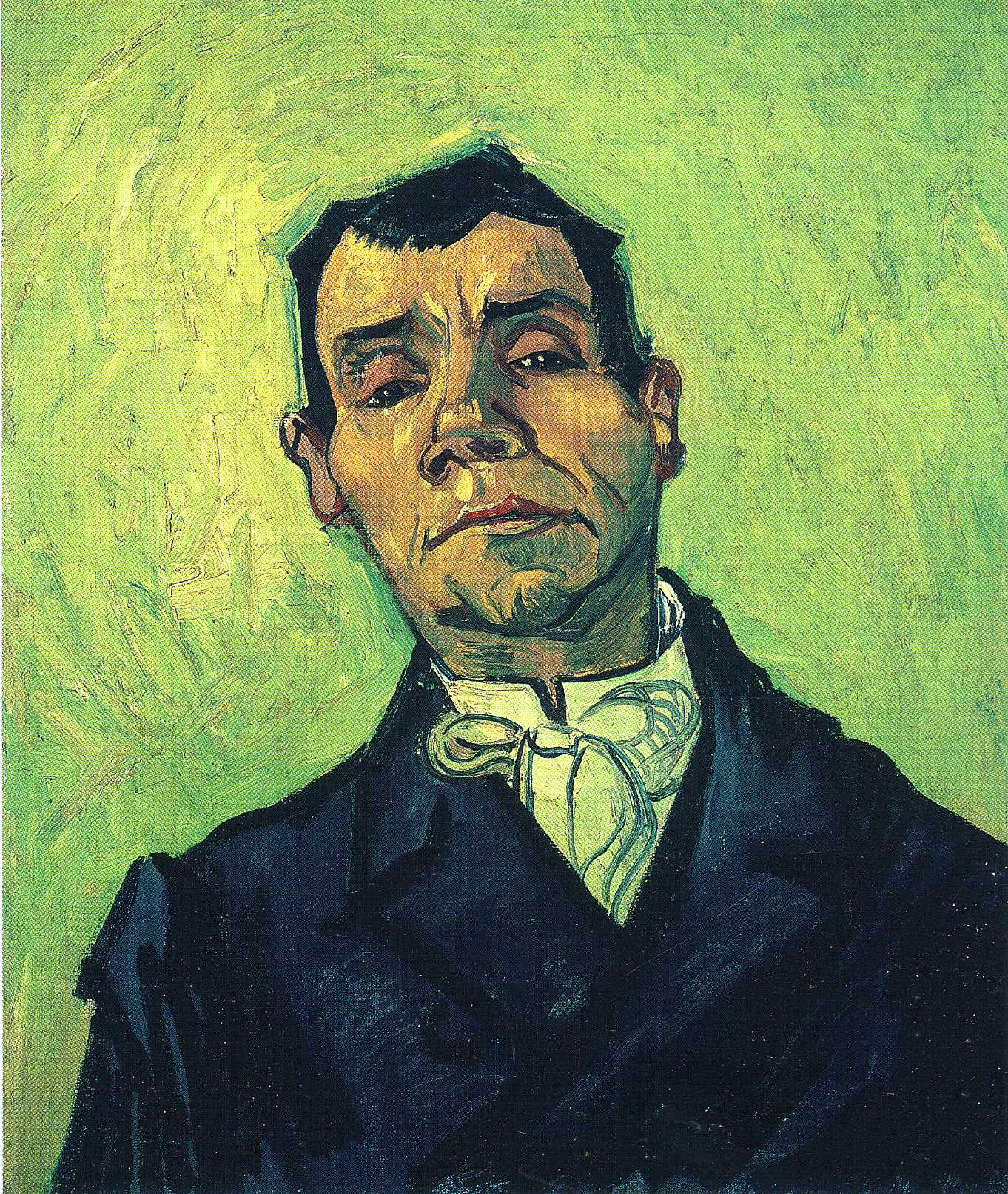 Portrait of a Man, 1888 - Vincent van Gogh - WikiArt.org