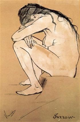 El dolor, Vincent van Gogh