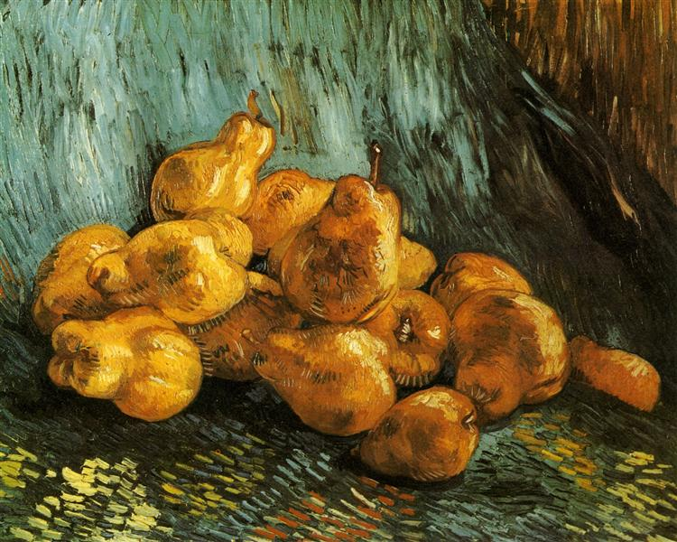 Still Life with Pears, c.1888 - Vincent van Gogh
