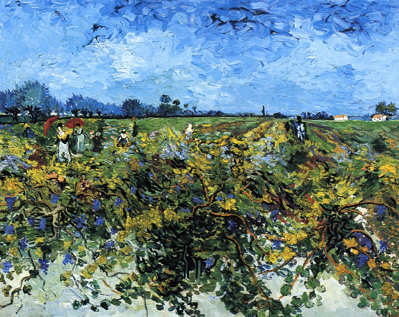 Famous Paintings Of Vineyards