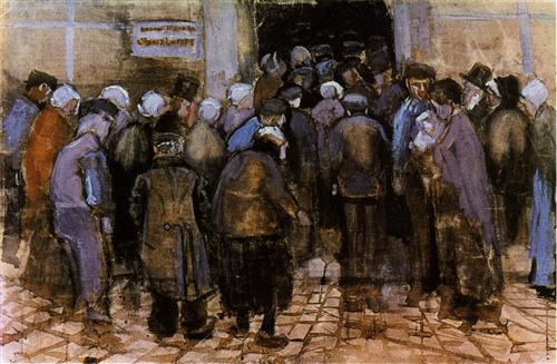 The State Lottery - Vincent van Gogh