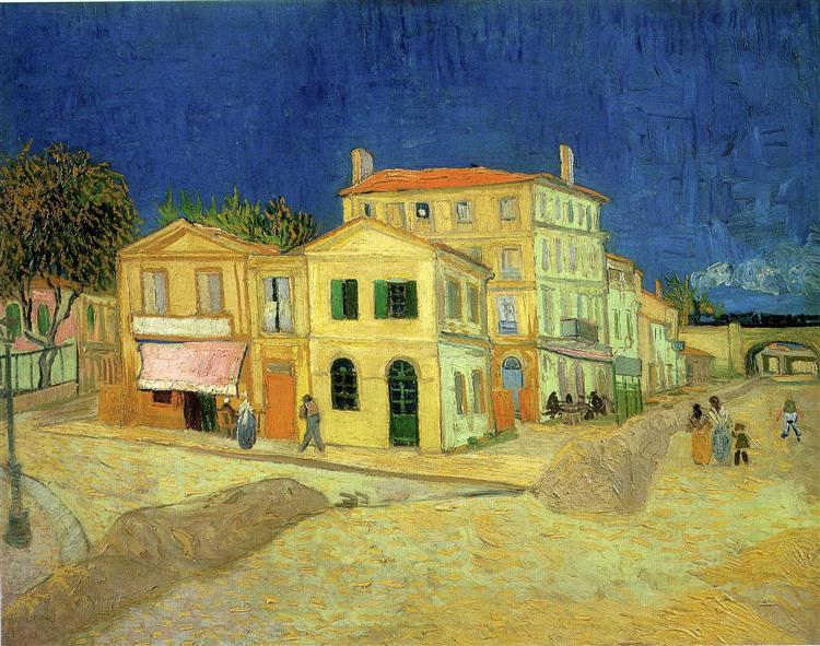 The Yellow House, 1888 - Vincent van Gogh