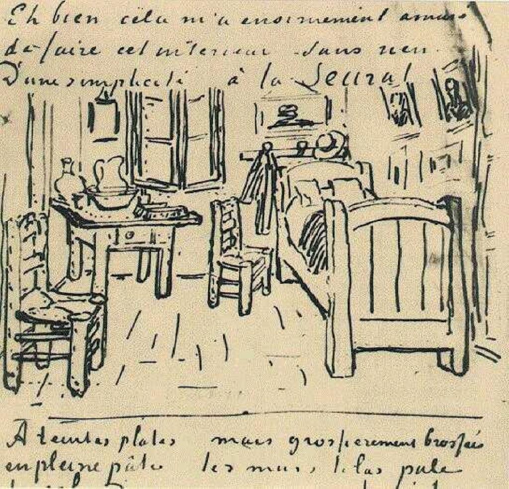 Vincent\'s Bedroom, 1888 - Vincent van Gogh - WikiArt.org