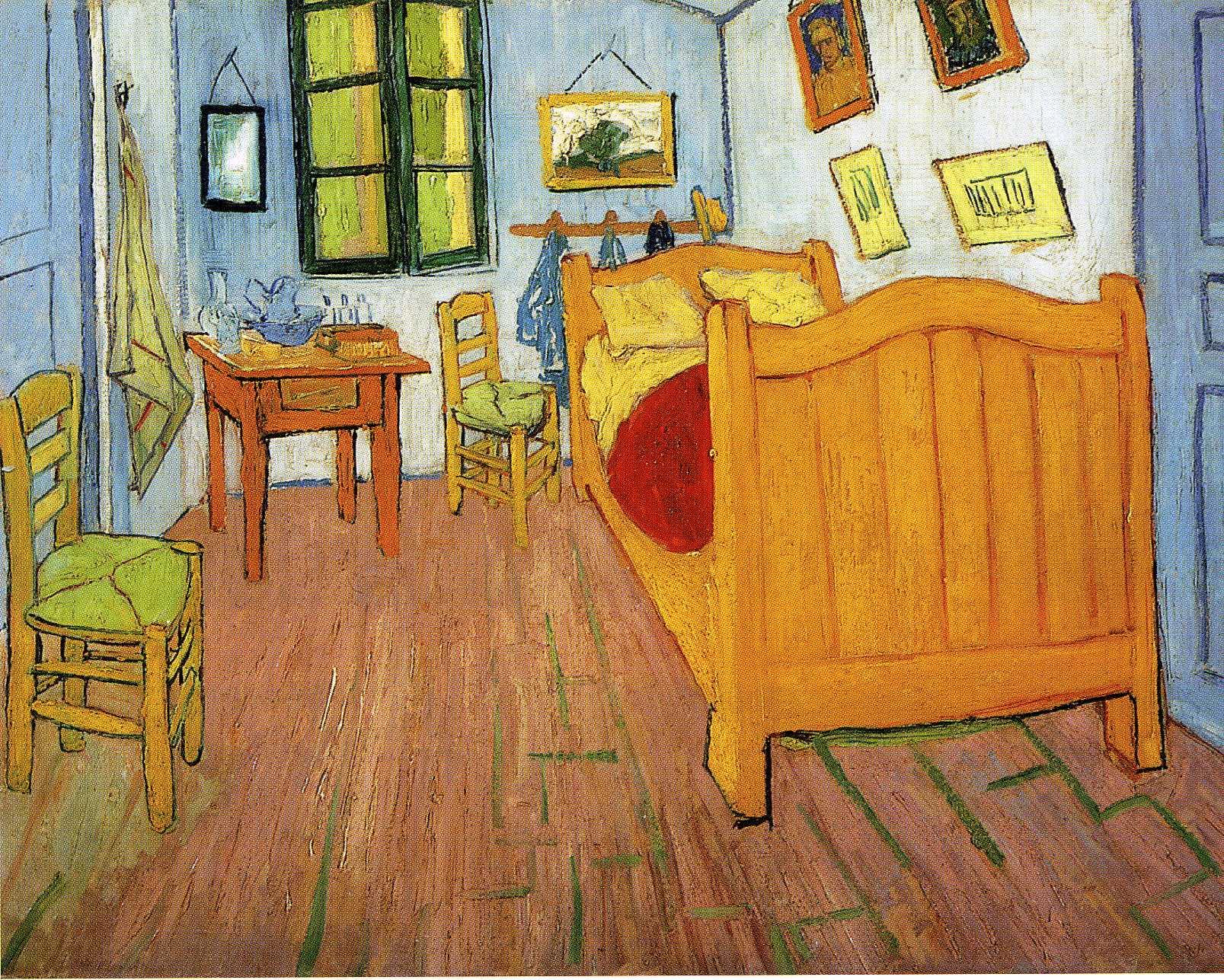2012 nike air max pour les enfants - Vincent\u0026#39;s Bedroom in Arles - Vincent van Gogh - WikiArt.org ...