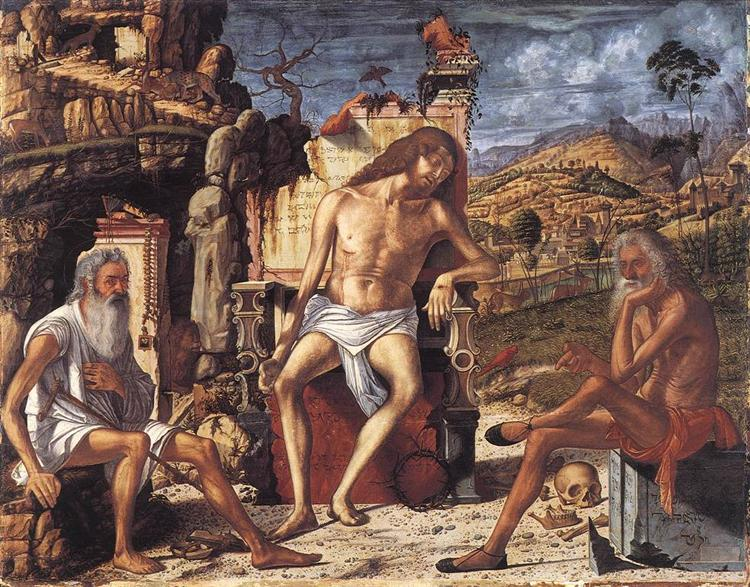 The Meditation on the Passion, c.1510 - Vittore Carpaccio