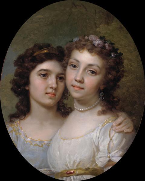 Lizanka and Dashenka, 1794 - Vladimir Borovikovsky