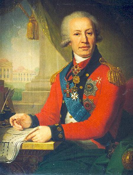 Portrait of Alexeï Ivanovitch Vassiliev, 1800 - Vladimir Borovikovski