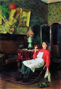 Without a master - Vladímir Makovski
