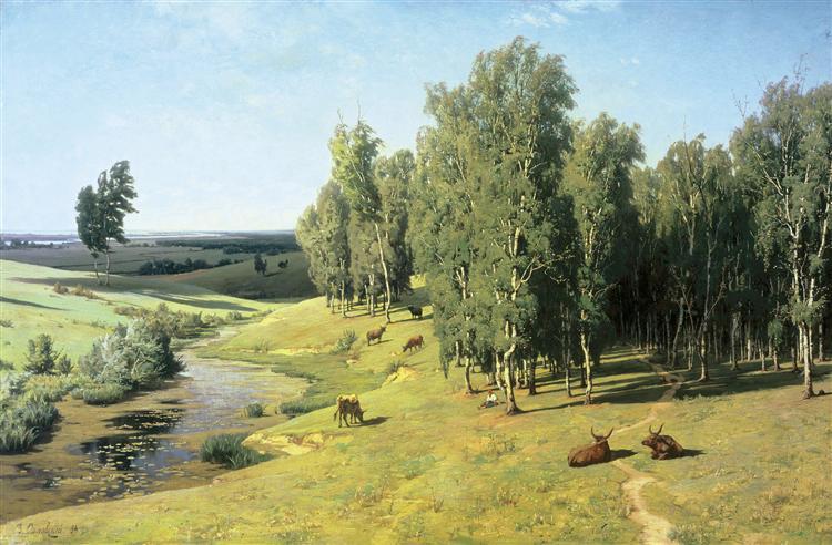 Summer day - Volodymyr Orlovsky
