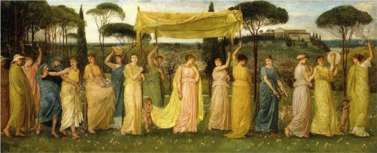 The Advent of Spring, 1873 - Walter Crane