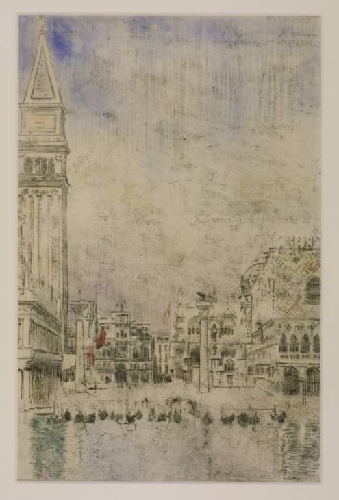 The Piazzetta and the Old Campanile, Venice, 1901