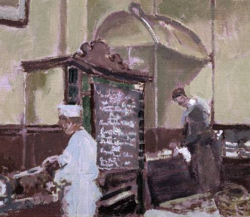 The Tottenham Distillery, c.1924 - Walter Sickert