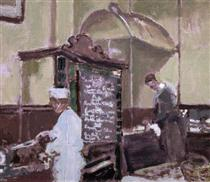 The Tottenham Distillery - Walter Sickert